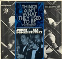 Johnny Hodges - Rex Stewart - Things Ain't What They Used To Be (RD 7829)